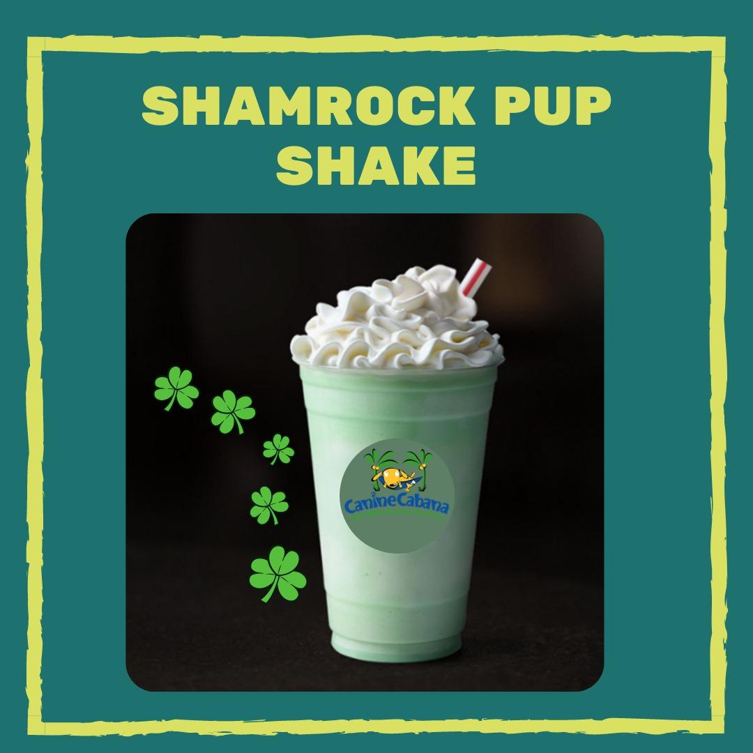 shamrock pup shake