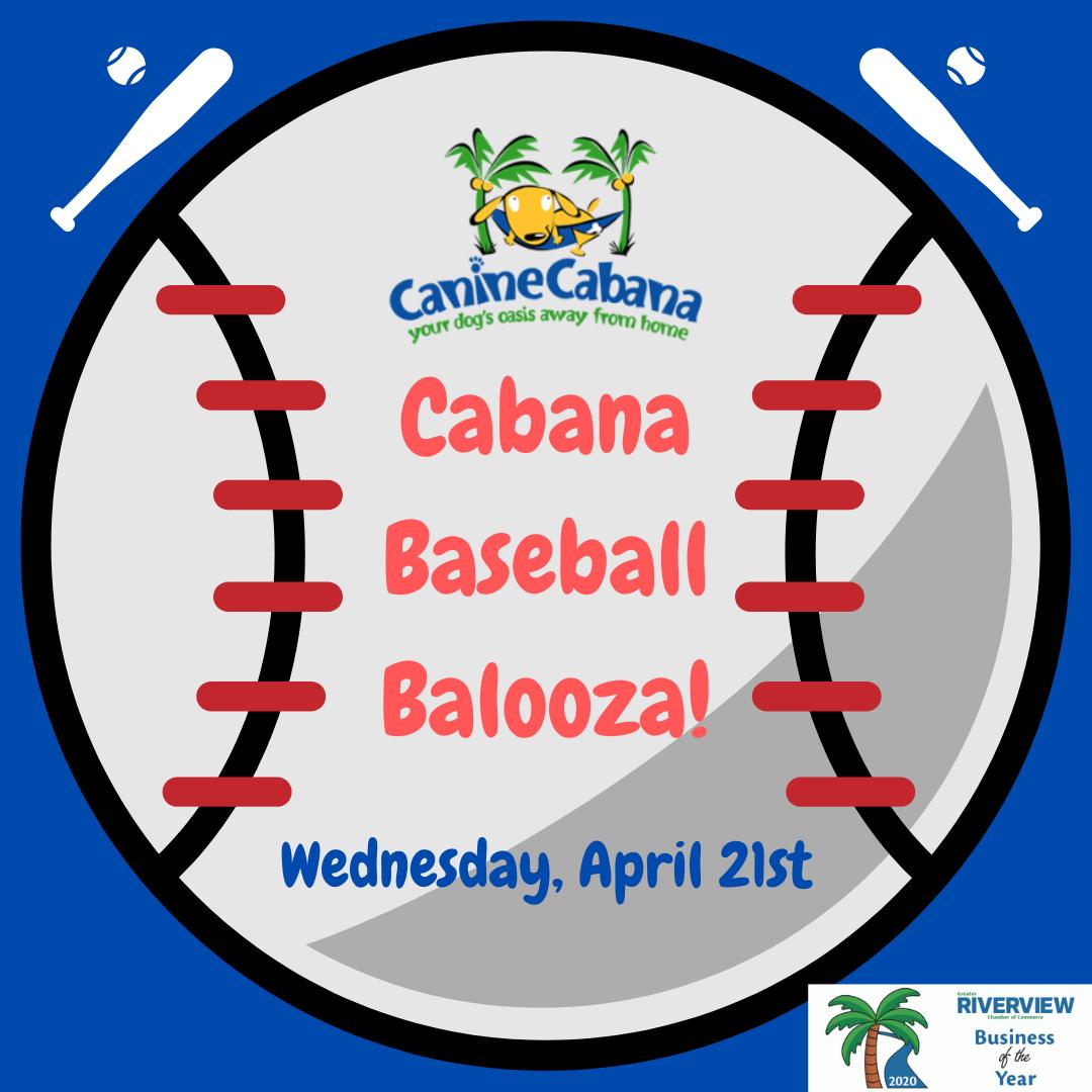 Get Ready For Cabana Baseball Balooza!